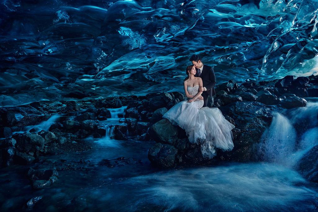 冰島婚紗, 冰洞婚紗, Ice Cave Pre-Wedding, 婚攝東法, Donfer, 藝術婚紗, 婚紗影像