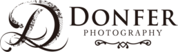 Donfer Photography | Logo Black